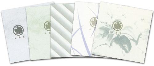 家紋・家名入り包装紙(有料)